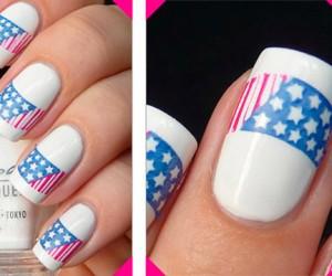 Флаги в дизайне ногтей