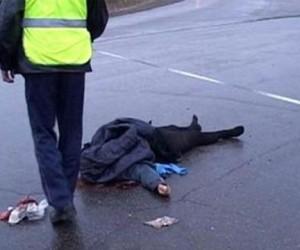 Полицейский сбил женщину и сбежал