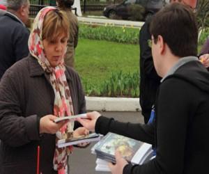 На Пасху В Москве раздадут 10 тысяч Евангелий