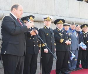 Парад судов пассажирского флота на Москве-реке