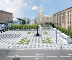 Новая архитектурная концепция Триумфальной площади