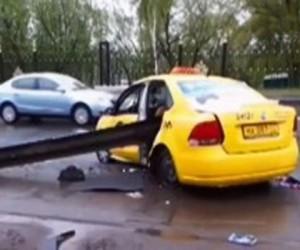 Московский таксист явился с повинной