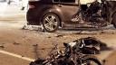 Таксист сбежал, бросив после аварии раненную пассажирку