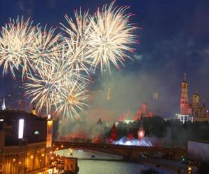 Праздничная символика Москвы