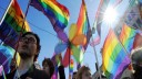 Московский гей-парад в честь бородатых женщин