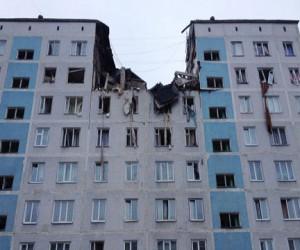Взрыв в московском жилом доме