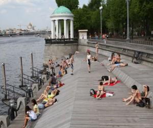 10 зон отдыха с купанием будет открыто в Москве