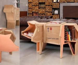 Мебель в форме еды и горящие диваны скоро появятся в России