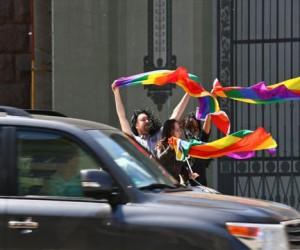 В Москве прошёл очередной гей-парад