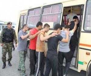 В «Москва-Сити» ОМОН и ФМС задержали 400 нелегальных мигрантов