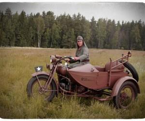 Крупнейшее частное собрание мотоциклов Второй мировой отличилось на «Моторах Войны»