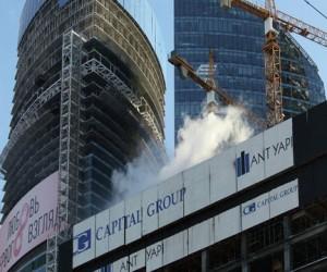 Пожар в строящейся башне «Москва-Сити»