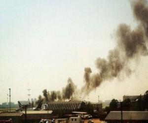 В Шереметьево горел самолет