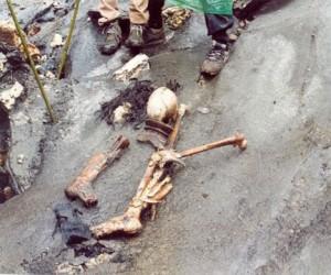 В Парке Горького нашли скелет шестилетнего ребенка