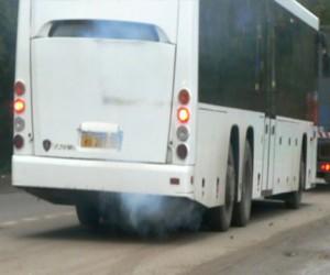 Пассажирский автобус загорелся на трассе Архангельск — Москва