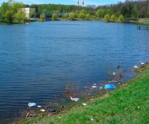 На юге Москвы реконструируют пруд Ангара