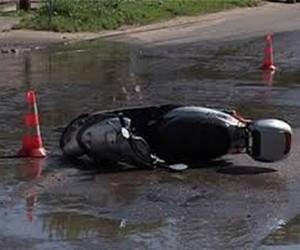 В Новой Москве девочка разбилась на скутере