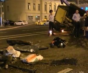 Депутат, сбивший дорожного рабочего, задержан в Москве