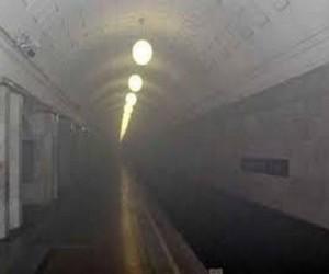 Задымление на серой ветке метро