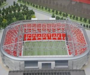 Стадион «Спартак» откроют в конце августа