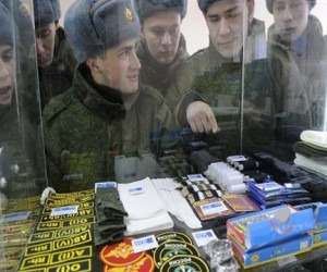 «Военторг» запускает сеть магазинов для военнослужащих