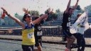 На Московском марафоне напали на бегунью