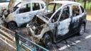 В Москве за ночь сожгли около десятка автомобилей