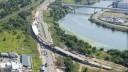 В Подмосковье завершено строительство пешеходного моста через Москву-реку