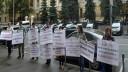 Пикет перед зданием Центробанка в Москве