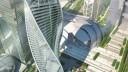 В «Москва-Сити» завершено строительство башни «Эволюция»