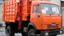 В Новой Москве на легковушку рухнул мусорный контейнер