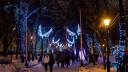 В новогодние праздники Тверской бульвар стал волшебным лесом