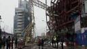 Рядом с «Москва-Сити» упал строительный кран