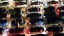 В Москве автолюбители устроили флешмоб в честь Дня России