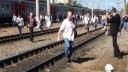 В электричке на западе Москвы произошло возгорание