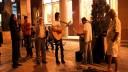 Уличные музыканты вышли на акции протеста