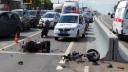 В результате ДТП на Варшавском шоссе погиб мотоциклист