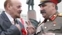 В столице двойники Ленина и Сталина устроили потасовку