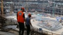В ходе реконструкции «Лужников» было обнаружено послание строителям