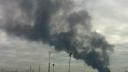В Капотне горел нефтеперерабатывающий завод