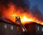 Порядка 400 студентов было эвакуировано вследствие пожара в общежитии