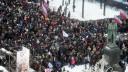 Депутат травмировался на митинге против расширения платных парковок