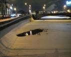 В столице МЧС спасли провалившегося в полынью ребёнка